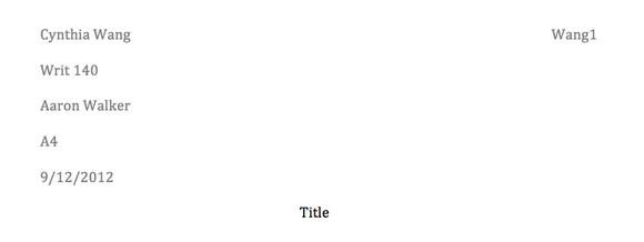 paper的两种格式:MLA和APA详解