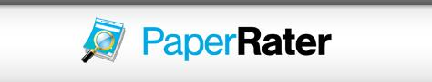 留学生论文查重修改工具—PaperRater常见问题