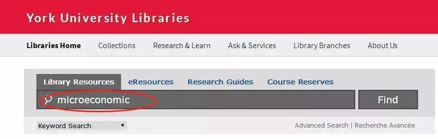 约克大学图书馆借阅书籍的流程分享