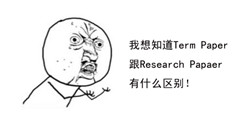 Term Paper与Research Paper你还分不清楚吗?
